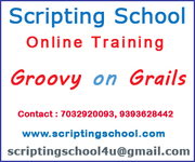 Groovy on Grails Online Training Institute Hyderabad