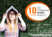 Know How to Beat Anxiety by Taking Help from MyAssignmenthelp.com
