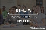 Writing a Resume Can Be Made Easy with MyAssignmenthelp.com Australia