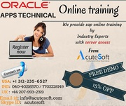 ORACLE APPS TECHNICAL Online Training with Project Case Studies-AcuteS