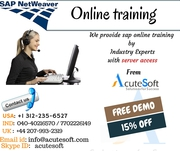 SAP NETWEAVER Online Training with Project Case Studies-AcuteSoft