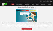 German language classes, online, one on one, tutor, learn german online
