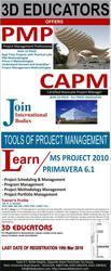 PMP | Primavera 6 | MS Project 2010 Training