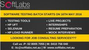 Software Testing -Part Time & Full Time | Class Room Training (1000$)