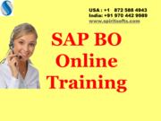 SAP BO ( Business Objects)/ BOBJ Online Training Sydney