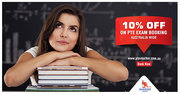 Save $33 on PTE Exam Booking with Aussizz Group