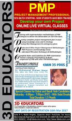 3D Educators Offers PMP