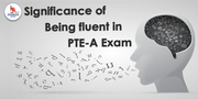 Why maintaining fluency is essential in PTE speaking test?