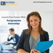 Postgraduate Internships in Australia